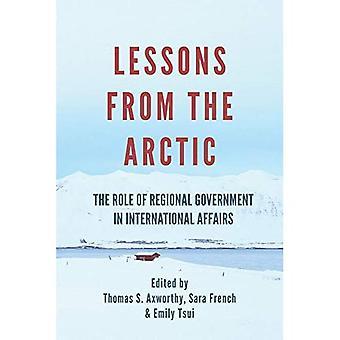 Lessen uit het Noordpoolgebied: De rol van de regionale overheid in internationale aangelegenheden