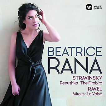 Ravel: Miroirs La Valse - Stravinsky: Petrushka [CD] USA import