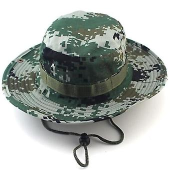 Classic Us Combat Army Style Gi Boonie Bush Jungle Hat, Sun Fishing Cap,