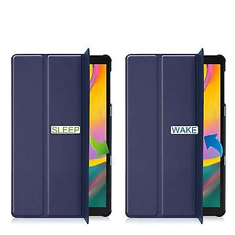 Taktische Tri Fold Bücherregal Abdeckung Samsung Galaxy Tab S5e (SM-T720 / SM-T725) - blau