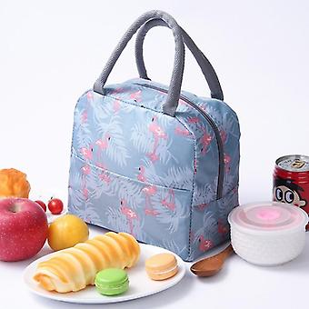 Lunch Bag Thermal Stripe Tote Bags Cooler / Picnic Food Lunch Box Bag