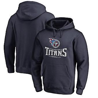 Tennessee Titans Løs Hettegenser Hettegenser Topper WYK008