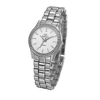 Homens Top Marca Luxury Quartz Women Clock - Ladies Dress Wristwatch