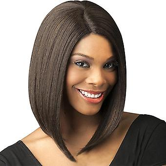 Women & apos;s شعر مستعار المرأة & apos;ق متوسطة الشعر القصير موجة بوب حلاقة الألياف الكيميائية غطاء الشعر