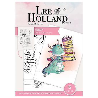 Crafter's Companion Lee Holland tyhjentää postimerkit minusta sinuun
