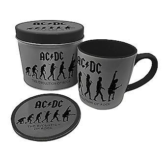 AC / DC Эволюция Рок Кружка и Каботажное судно Установить