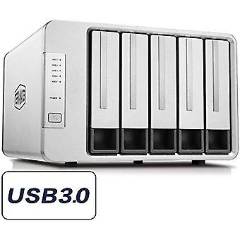 Terramaster d5-300c usb3.0(5gbps) type c 5-bay raid enclosure support raid 0/1/single exclusive 2+3