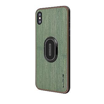 Apple iPhone XS Holster Case com anel de suporte - Verde