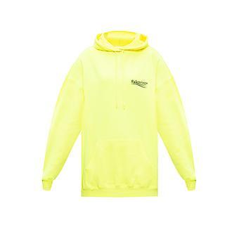 Balenciaga 578135tjvd47110 Damen's gelb Baumwolle Sweatshirt