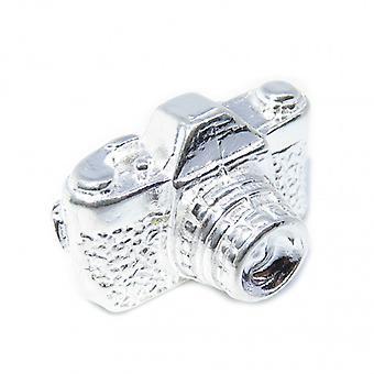 Appareil photo Sterling Silver Charm .925 X 1 Appareils photo et charmes de photographie - 8210