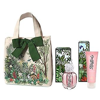 Lolita Lempicka LolitaLand Gift Set 40ml EDP + 75ml Body Lotion + Bag