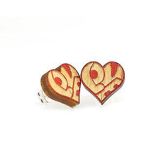 Love Heart Stud korvakorut #3010