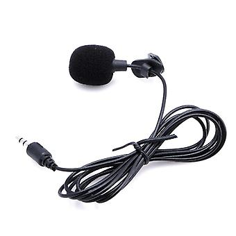 Mini Hands Free Clip On Lapel Microphone Mic For Pc/laptop Skype