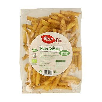 Nachos Bioroll's with Organic Tomato 125 g