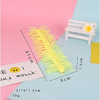 Strange New Toy Tpr Soft Plastic Millipede Centipede Creative Models Vent The Whole Person Toy