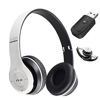 Classical Bluetooth Headphone With Mic Computer Tv Pc Phone Laptop Tablet Gamer