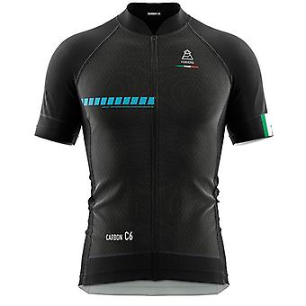 Vardena Solid Black Cycling Jersey
