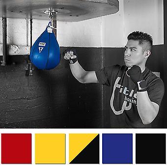 Titel Boxning Läder Speed Bag
