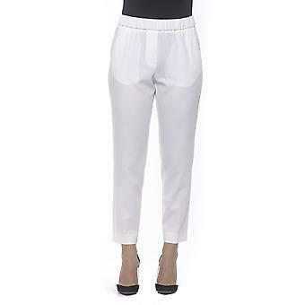 White Trousers Peserico Woman