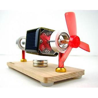 Lichte motor magnetische ophanging Mendocino solar motor speelgoed