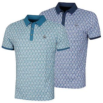 "Original Penguin Mens 2021 ""Lei"" It Be Stretch Floral Golf Polo Shirt"