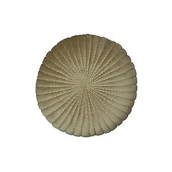 Round Velvet Pillow, Sage- 15 Inch
