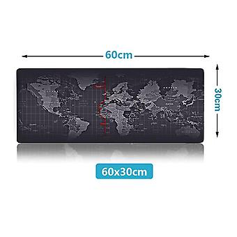 Extra Large Old World Map Gaming Mousepad Anti-slip Natural Rubber