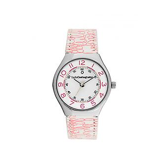 Women's Watch Lulu Castagnette Watches 38937 - Pink Leather Bracelet
