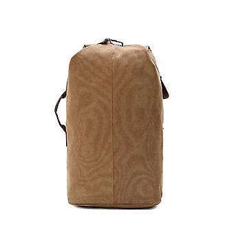 Canvas Foldable, Bucket Cylinder, Shoulder Sports, Tactical Travel Handbag