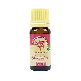 Geranium eteerinen öljy (Aetheroleum geranii) 100% puhdasta ilman lisäystä, 10 ml