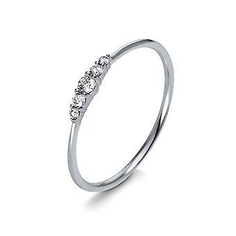 Luna Creation Promessa Ring Multiple Stone Trim 1K122W454-7 - Ring Width: 54