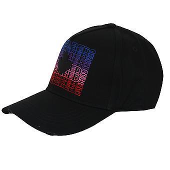 Dsquared2 hat multi logo black baseball cap