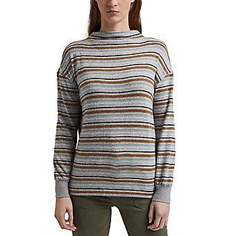 edc by Esprit 120CC1K324 T-Shirt, 044/grey Light 5, L Woman