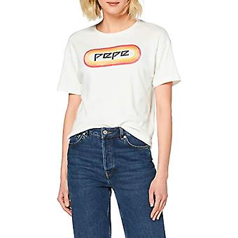Pepe Jeans T-Shirt, White (Mousse 808), Medium Woman(2)