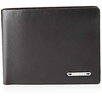 Guess Tyler Billfold W/S Flap W/Cp Coin Purse, Man, Black, One Size
