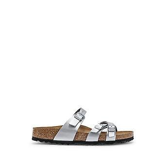 Birkenstock - Sapatos - Chinelos - FRANCA-1018868-SILVER - Mulheres - Prata - EU 36