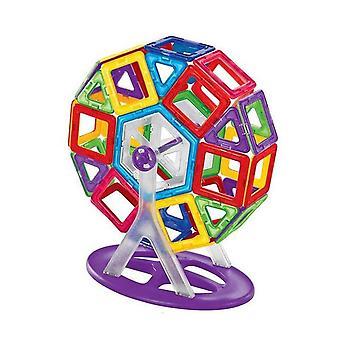 Costruttore magnetico Di grande dimensione Educational Magnetic Designer Fai da te.