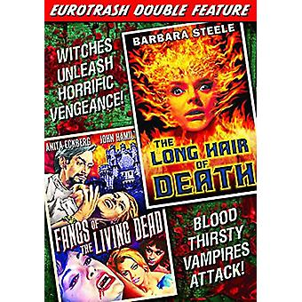 Eurotrash Double Feature: Long Hair of Death [DVD] USA import