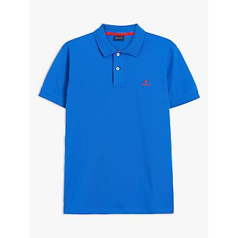 Gant Heren Polo Shirt Contrast Kraag Pique 2052003 422