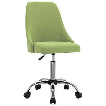 vidaXL Bürostühle 2 Stk. Grün Stoff