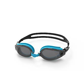 SwimTech Fusion Goggles Black/Blue/Smoke