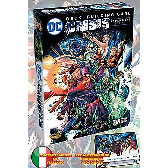 DC Comics-Deck Building Game-Expansion 1: Crisis (italien)