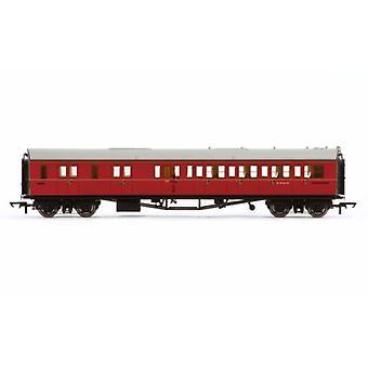 Hornby R4765 BR Collett -käytäväjarru 3rd LH-linja-auto W4936W 00 Gauge