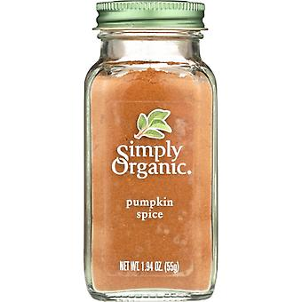 Simply Organic Spice Pumpkin, Case of 6 X 1.94 Oz