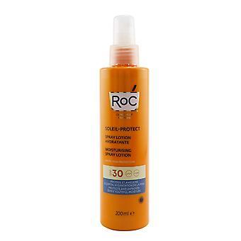 ROC Soleil-Protect Moisturising Spray Lotion SPF30 UVA & UVB (For Body) 200ml/6.7oz