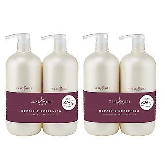 Neal & Wolf Repair & Replenish Harmony Shampoo & Treatment 950 Ml