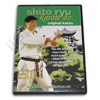 Shito Ryu Karate Do Original Katas Dvd Tomiyama -Vd6814A
