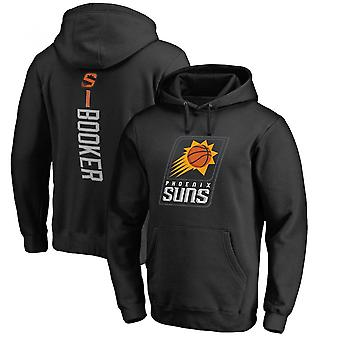 Phoenix Suns Devin Booker Pullover Hoodie Swearshirt Loose Hooded Shirts