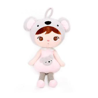 Baby Girl Gifts Soft First Baby Doll Plush Dolls With Gift Box(RED)