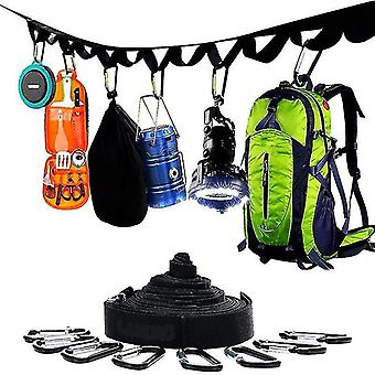 Campsite Storage Strap Clothes Pins For Hanging Outdoor Camping Equipment(GROUP2)